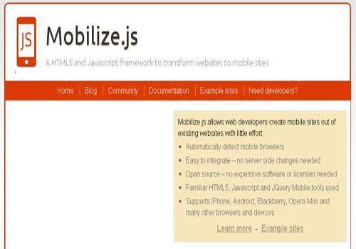 Mobile Js