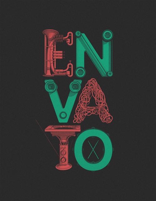Retro Typography Poster
