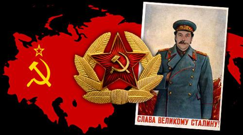 Vintage Soviet Poster of Josph Stalin
