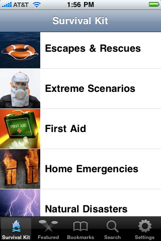 16 life saving iphone apps for your survival
