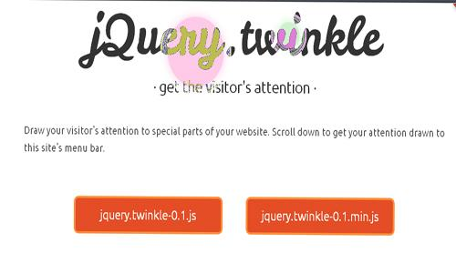 jquery twinkle