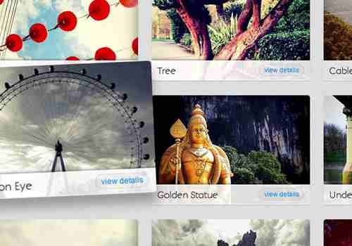 Create A CSS3 Image Gallery With 3D Lightbox Animation