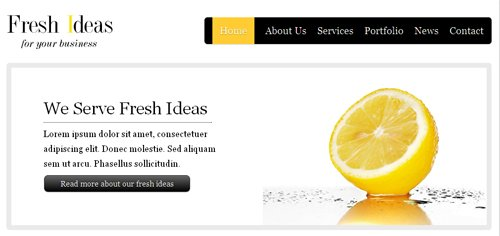 12 HTML5 CSS3 Beautifully Designed Themes