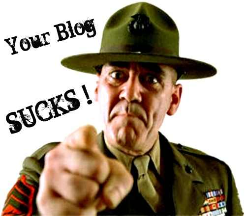 Your Blog Sucks