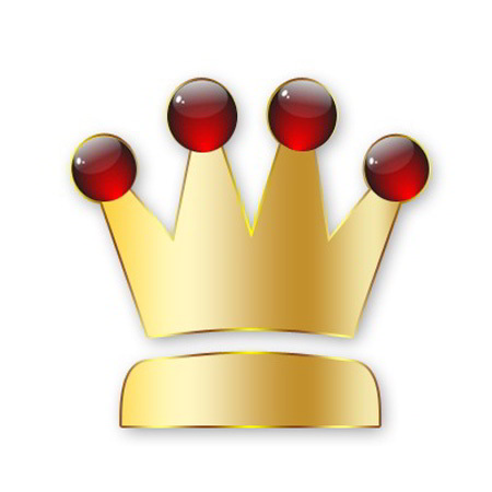 King Crown Logo Icon