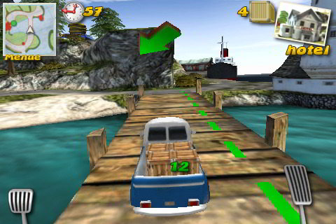 Parcel Panic Post Car Racer 3D