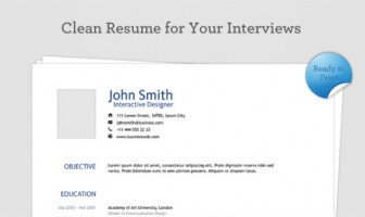 clean-resume