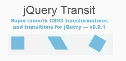 jQuery Transit