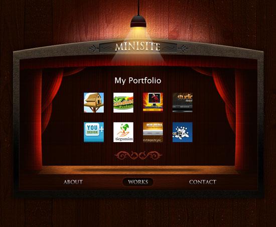 portfolio design inspiration