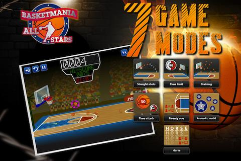 The description of Basketball Mania