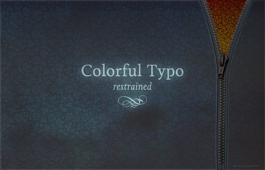 Colorful Typo