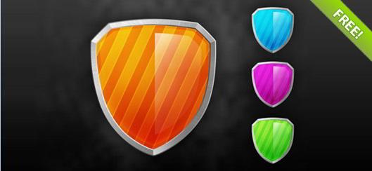 Glossy Shield Icon