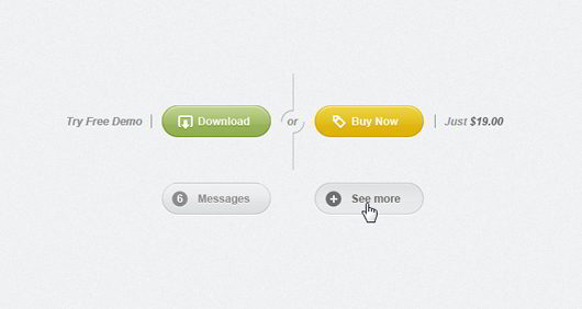 Rounded PSD Web UI Set