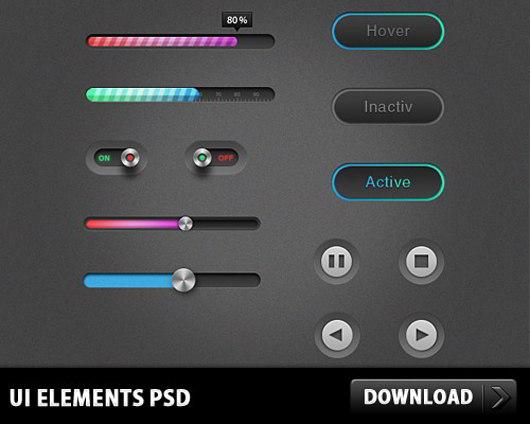 UI-Elements-PSD