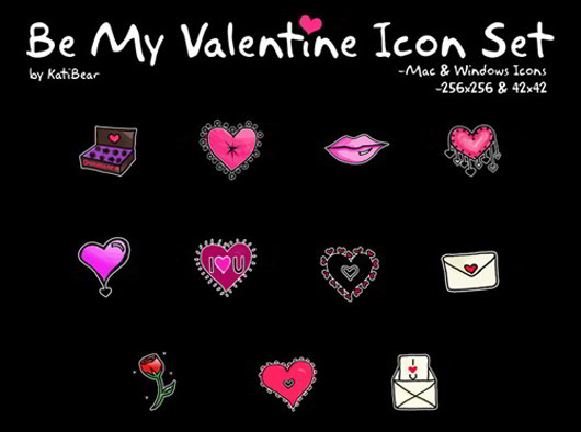 Be My Valentine Comp Set