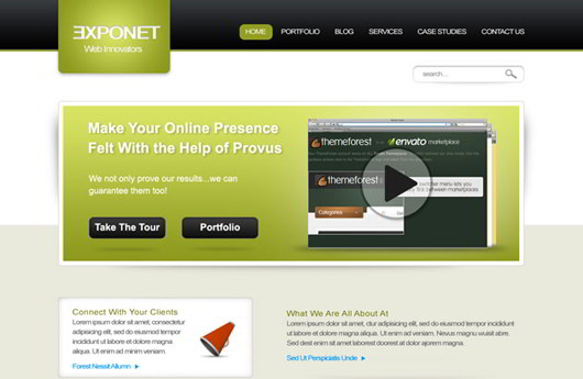 Exponet Business Site