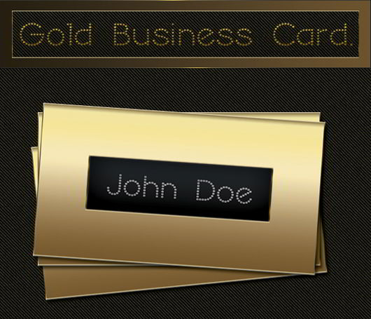 Free psd gold business card skytechgeek free psd gold business card colourmoves