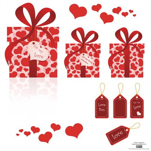 Love Box Vector