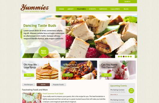 Yummiez Free Food Website