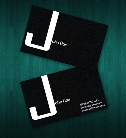 35 best free business card templates skytechgeek dark business card template colourmoves Choice Image
