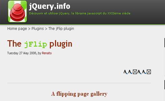 6 Free JQuery Page Flipping Book-Like Plugins - SkyTechGeek