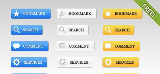 39 Free Web 2.0 Button
