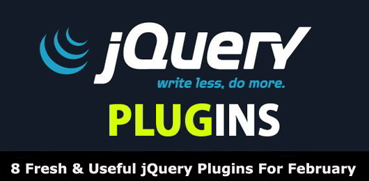 8 Fresh and useful jquery plugins