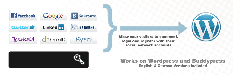 Wordpress Social Connect Login