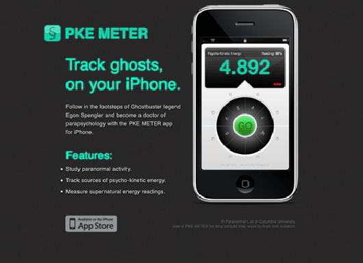 Cool iPhone App Website in Html 5