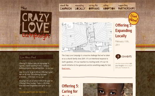 Crazy Love Campaing