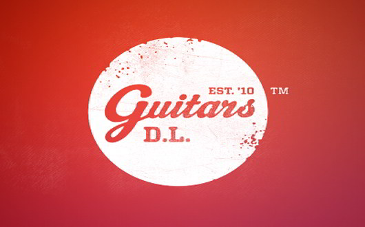 Guitars Retro Logo