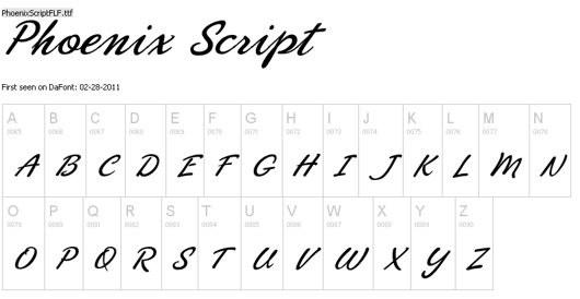 Phoenix Script