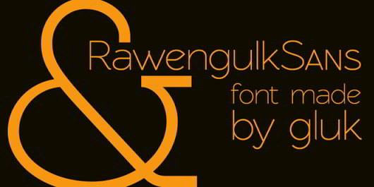 Rawengulk Sans