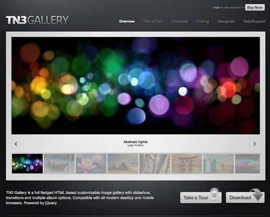 Tn3 Jquery image gallery