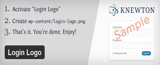 Custom Login Logo Plugin