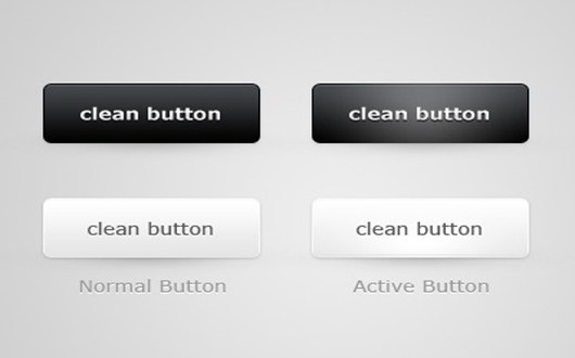 cleanish-web-buttons