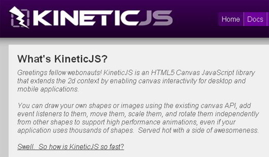 Kinetic-Js