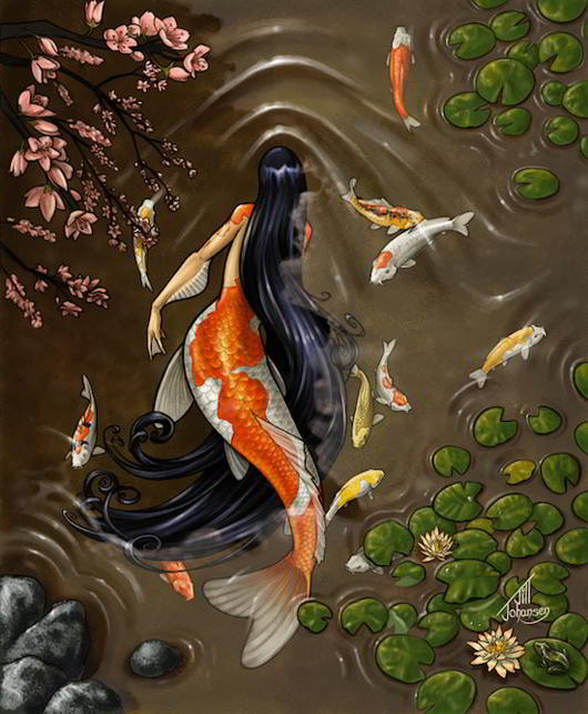 Koi-Mermaid-by-Bamfette