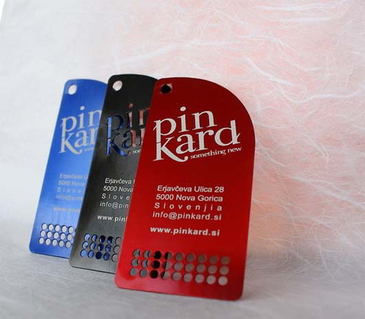 Metal Aluminum Business Cards