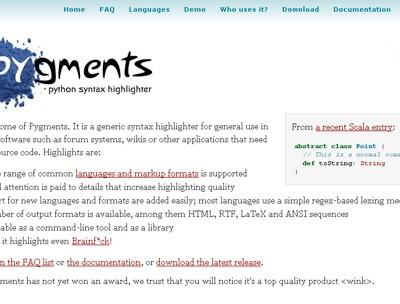 Pygments