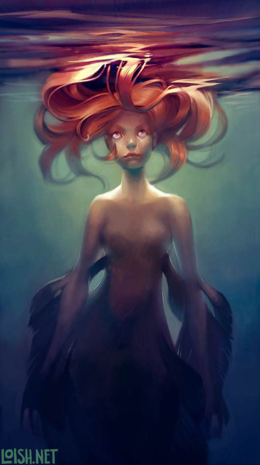 mermaid-by-loish