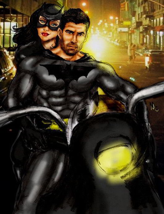 Batman_and_Catwoman_by_Meejay