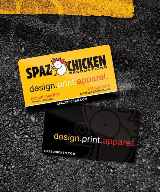Spaz_Chicken_Business_Card