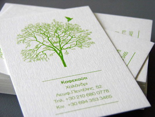 30 outstanding eco friendly green business cards skytechgeek coffee shop green business card colourmoves