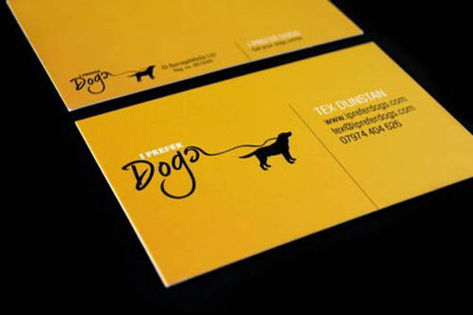 dogs-business-card