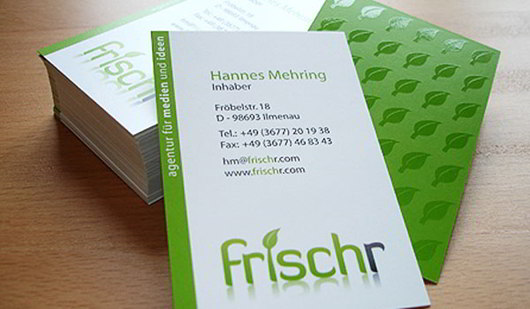 frischr-is-fresher-green-business-card