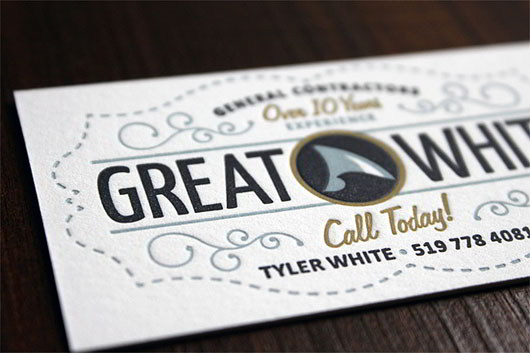 30 Fresh and Striking Business Cards in Pristine White