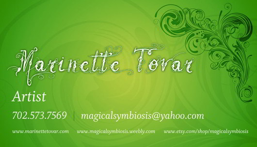 green-business-card