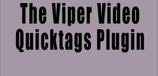 viper-video-quicktag-wordpress