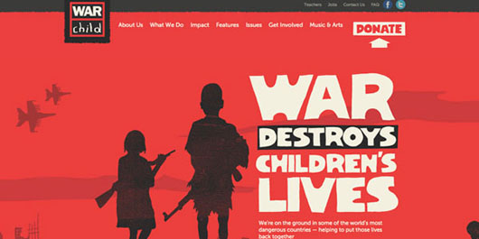 war-child-red-website